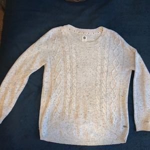 Roxy Cropped Front Sweater